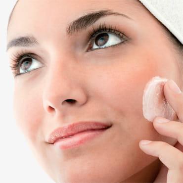 Очищение кожи лица и сужение пор