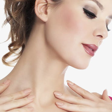 Процедуры для кожи шеи и декольте